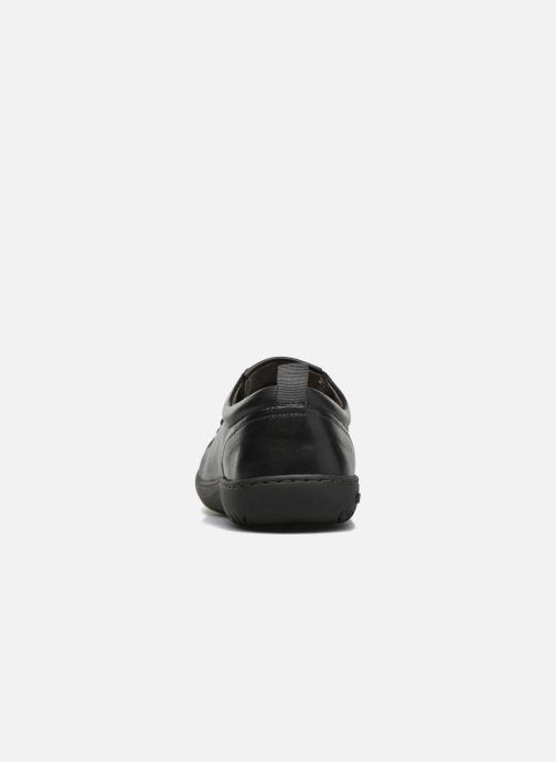 Zapatos con cordones Birkenstock Islay W Negro vista lateral derecha