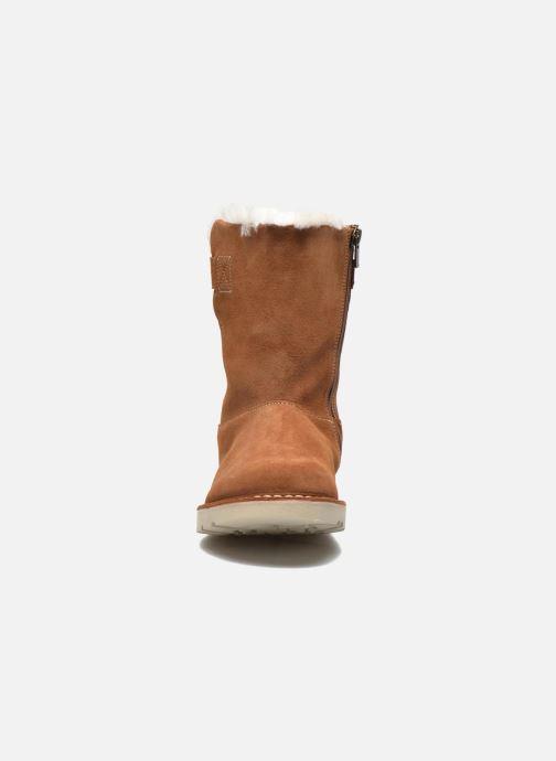 Bottines et boots Birkenstock Westford Marron vue portées chaussures