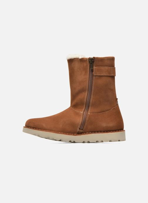 Boots en enkellaarsjes Birkenstock Westford Bruin voorkant