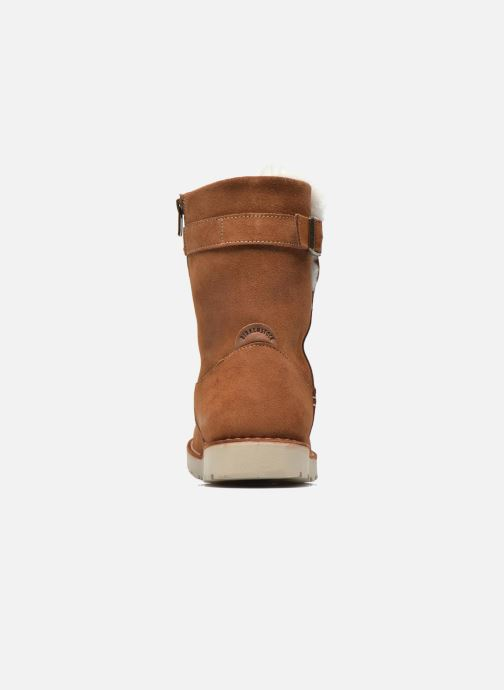 Boots en enkellaarsjes Birkenstock Westford Bruin rechts