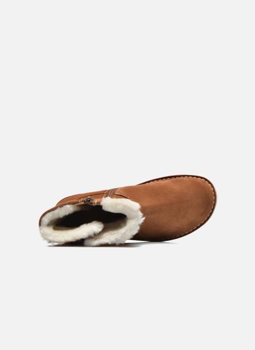 Boots en enkellaarsjes Birkenstock Westford Bruin links