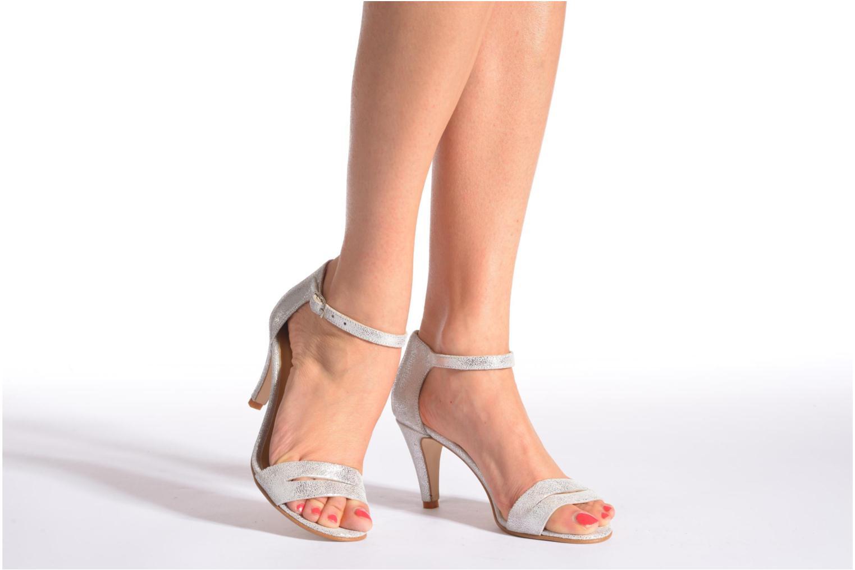 Sandales et nu-pieds Jonak Dream Argent vue bas / vue portée sac