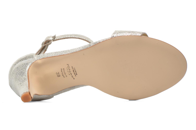 Sandales et nu-pieds Jonak Dream Argent vue haut