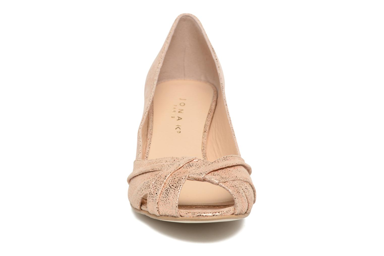 Escarpins Jonak Dalmer Or et bronze vue portées chaussures