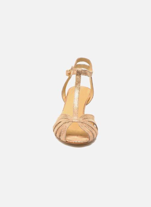 Sandales et nu-pieds Jonak Doliate Or et bronze vue portées chaussures