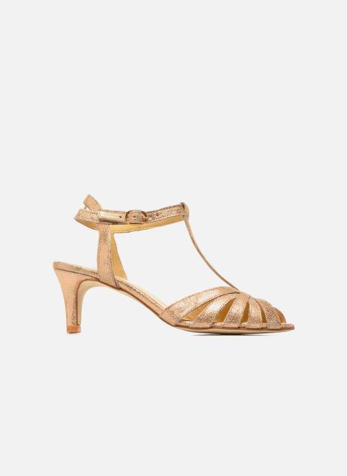 Sandales et nu-pieds Jonak Doliate Or et bronze vue derrière