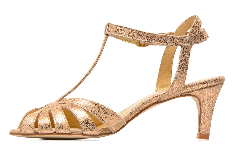 Sandales et nu-pieds Jonak Doliate Or et bronze vue face