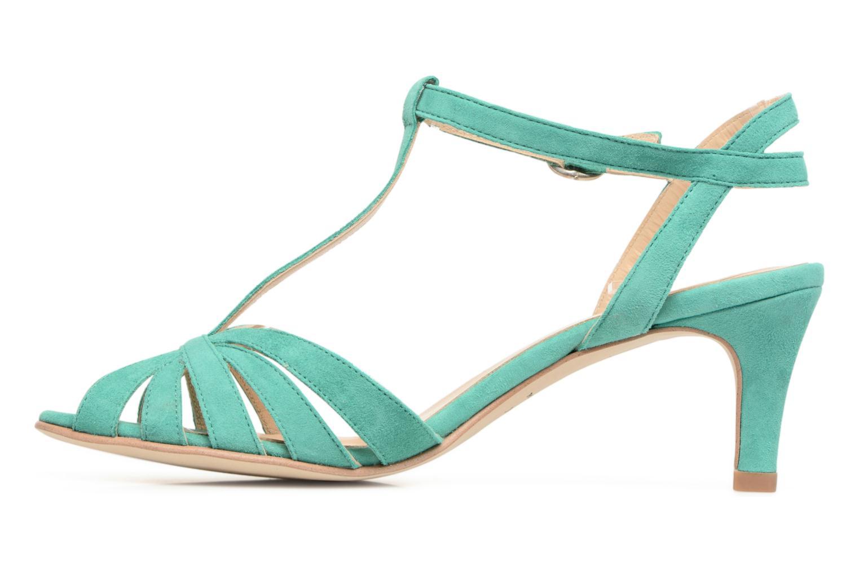 Sandales et nu-pieds Jonak Doliate Bleu vue face