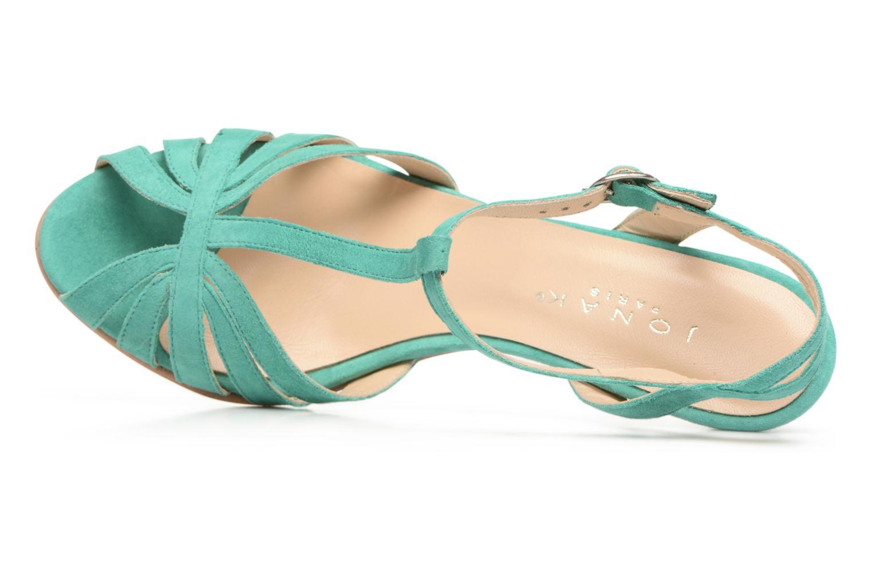Sandales et nu-pieds Jonak Doliate Bleu vue gauche