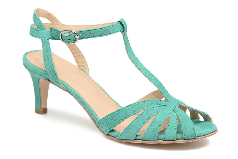Sandales et nu-pieds Jonak Doliate Bleu vue détail/paire