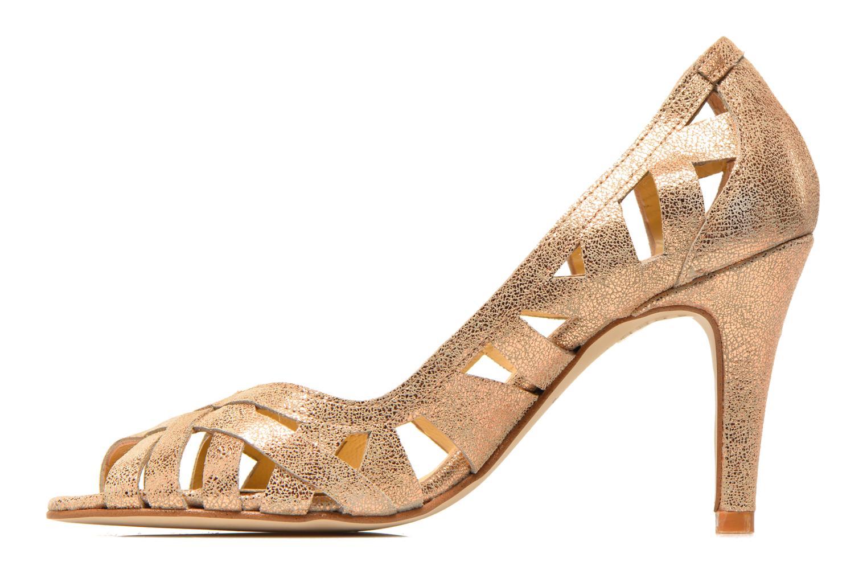 Zapatos de tacón Jonak Djenny Oro y bronce vista de frente