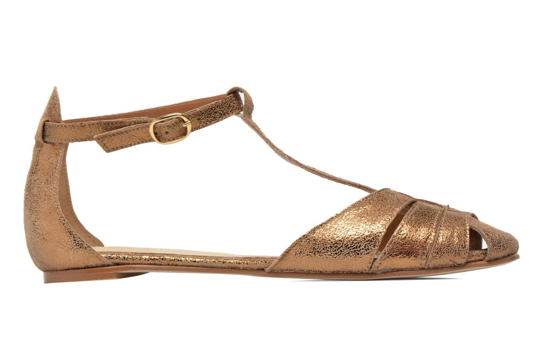 Sandales et nu-pieds Jonak Dowdies Or et bronze vue derrière