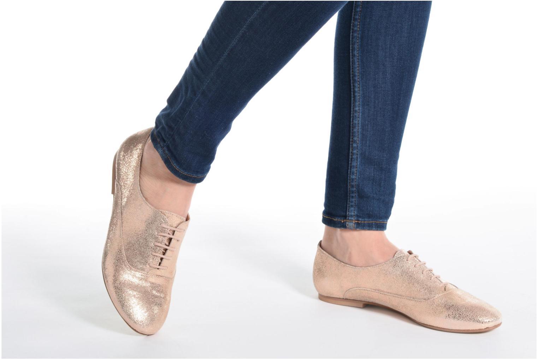 Chaussures à lacets Jonak 2534 Or et bronze vue bas / vue portée sac