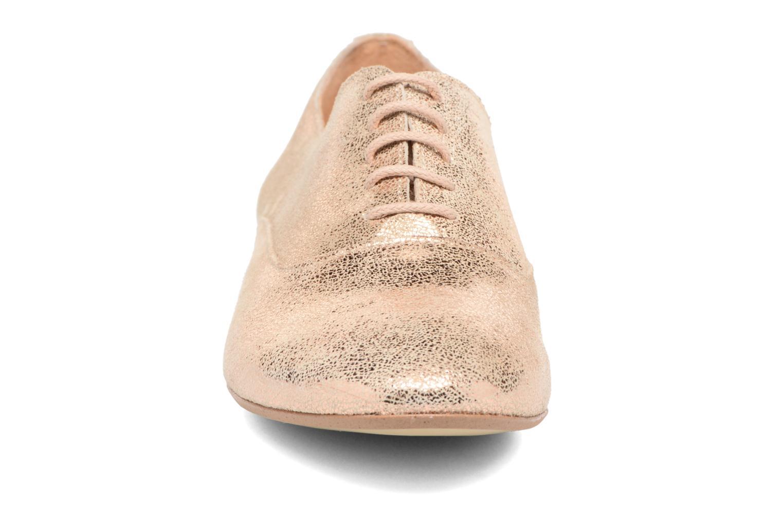 Chaussures à lacets Jonak 2534 Or et bronze vue portées chaussures