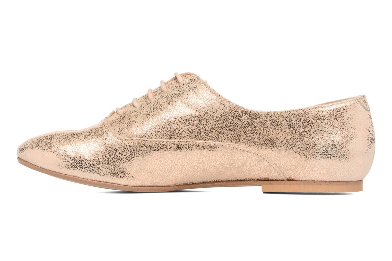 Chaussures à lacets Jonak 2534 Or et bronze vue face