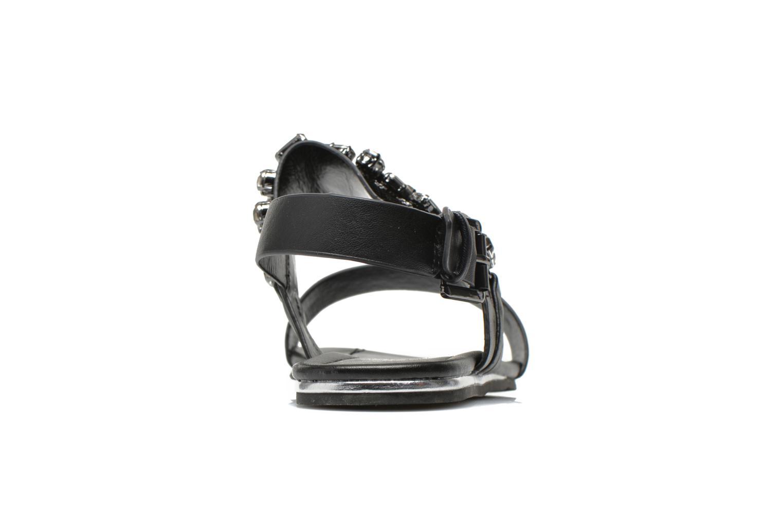 Sandales et nu-pieds Blink Mori Noir vue droite