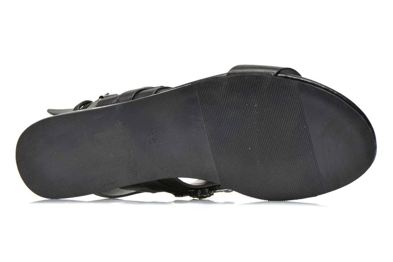 Sandales et nu-pieds Blink Mori Noir vue haut