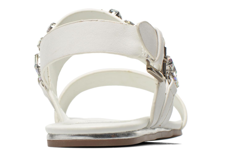 Sandales et nu-pieds Blink Mori Blanc vue droite