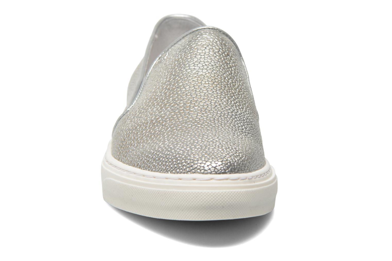 Baskets Bronx Mec 3 Argent vue portées chaussures