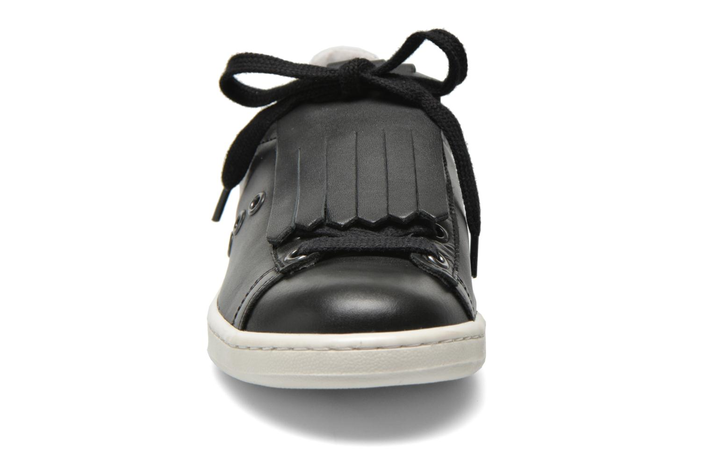 Baskets Bronx Beluga Noir vue portées chaussures
