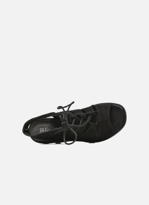 Sandali e scarpe aperte Bronx Mila Nero immagine sinistra