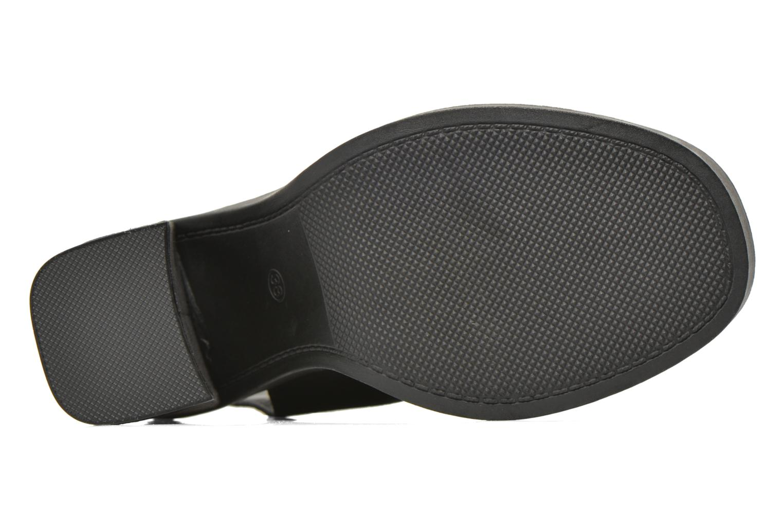 Sandales et nu-pieds Bronx Mila Noir vue haut