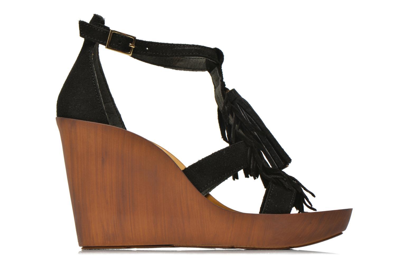Sandali e scarpe aperte Bronx Banner Nero immagine posteriore