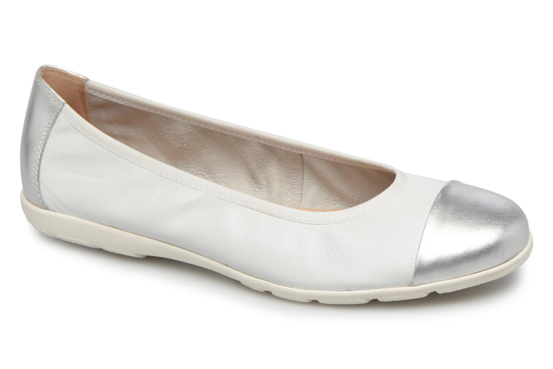 Ballerinaer Caprice Vivian Hvid detaljeret billede af skoene