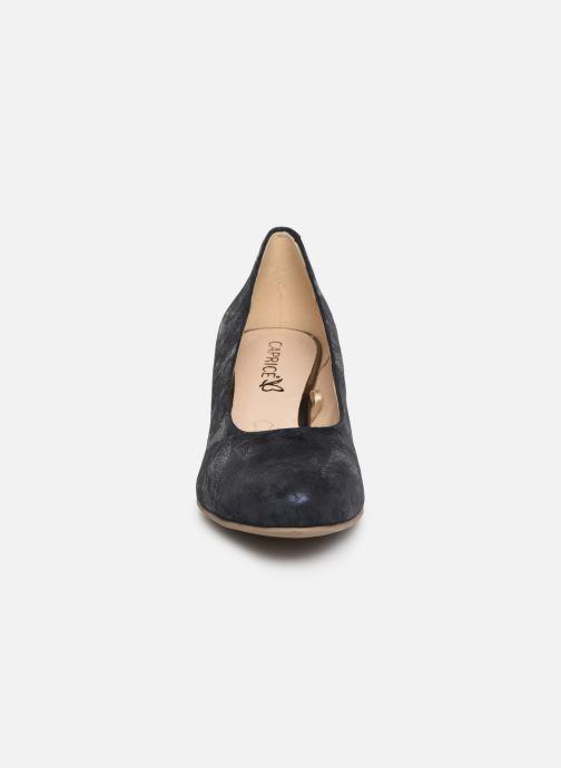 Escarpins Caprice Cristel Bleu vue portées chaussures