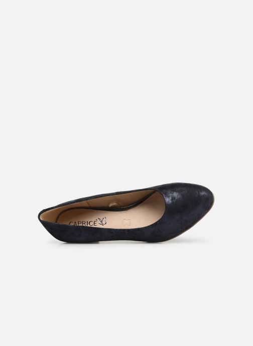 Pumps Caprice Cristel Blauw links