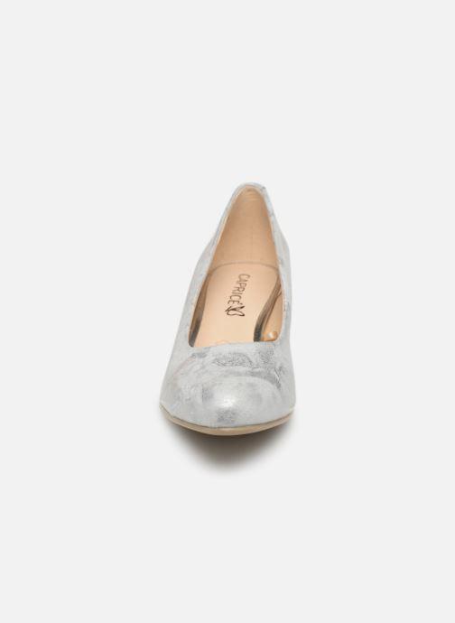 Escarpins Caprice Cristel Argent vue portées chaussures