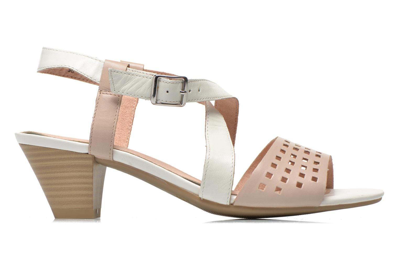 Sandales et nu-pieds Caprice Talia Beige vue derrière