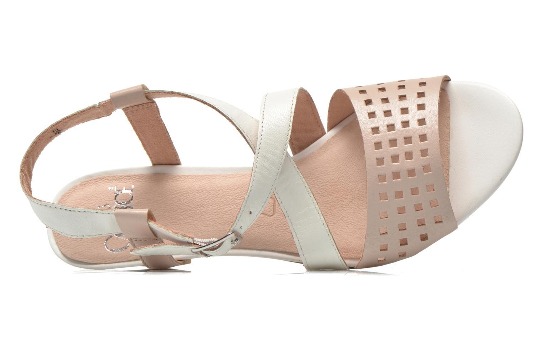 Sandales et nu-pieds Caprice Talia Beige vue gauche