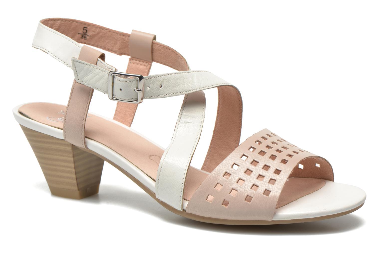 Sandales et nu-pieds Caprice Talia Beige vue détail/paire