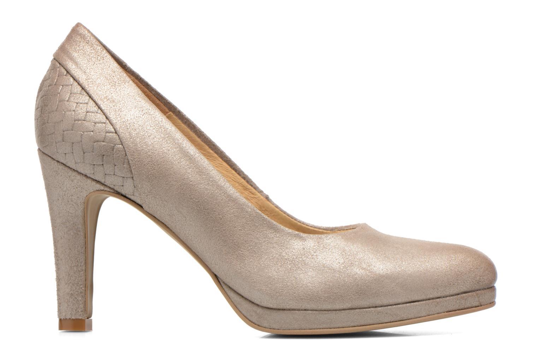 High heels Myma Hewin Beige back view