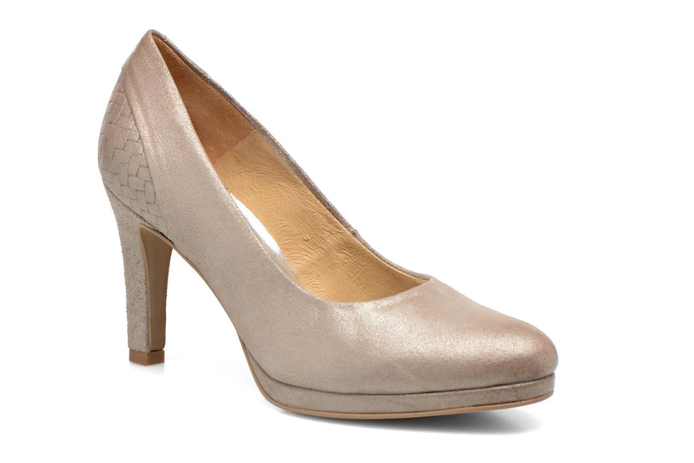 High heels Myma Hewin Beige detailed view/ Pair view