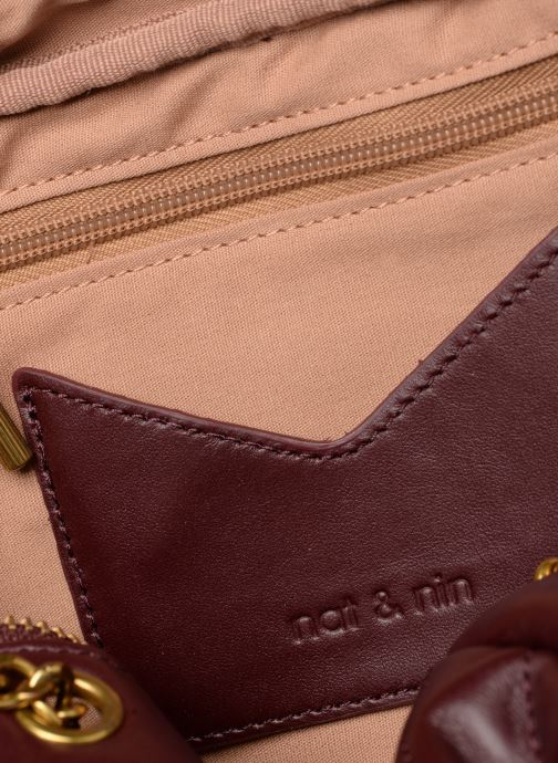 Handtaschen Nat & Nin Rio weinrot ansicht von hinten