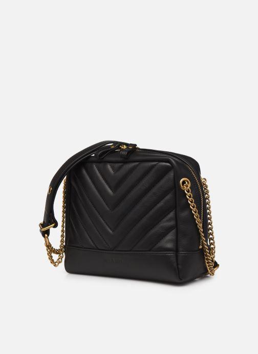 Handtaschen Nat & Nin Rio schwarz schuhe getragen