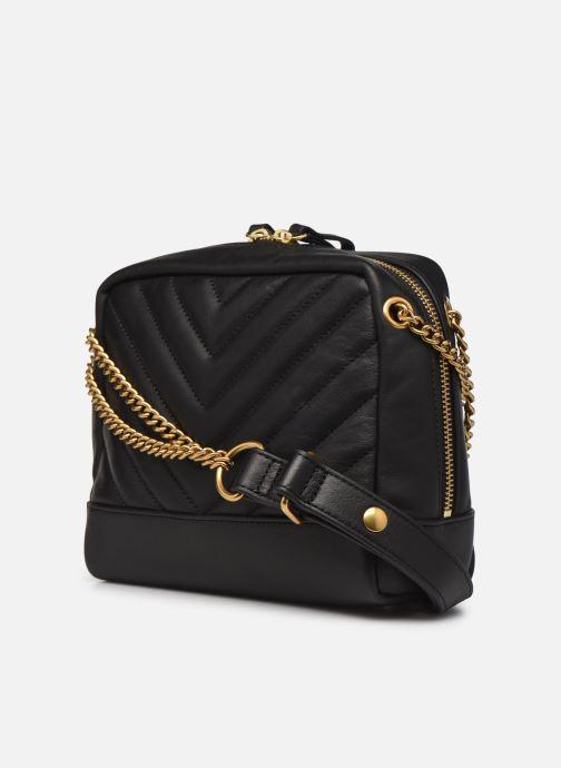 Handtaschen Nat & Nin Rio schwarz ansicht von rechts