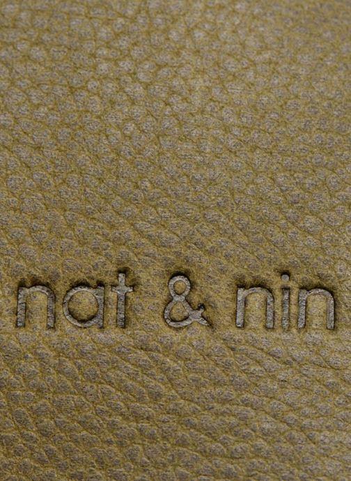 Sacs à main Nat & Nin Nova Vert vue gauche
