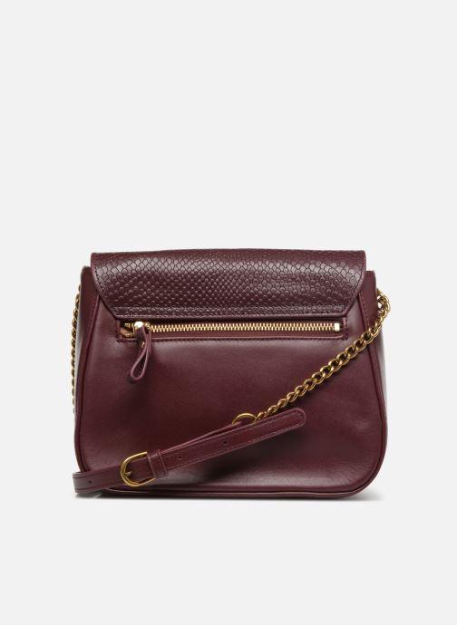Handtaschen Nat & Nin Nova weinrot ansicht von vorne