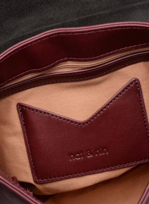Handtaschen Nat & Nin Nova weinrot ansicht von hinten