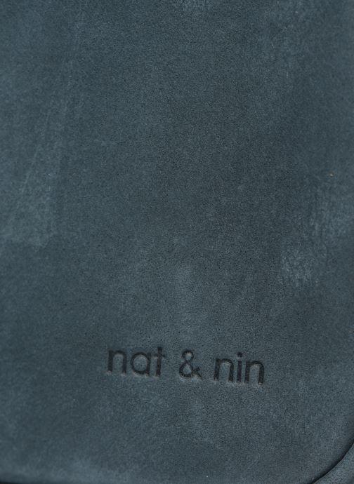 Sacs à main Nat & Nin Nova Bleu vue gauche
