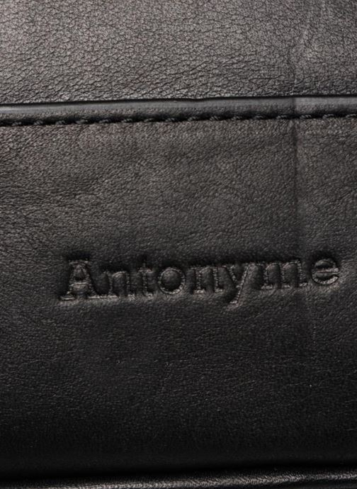 Laptop cases Antonyme by Nat & Nin Teodor Green view from the left