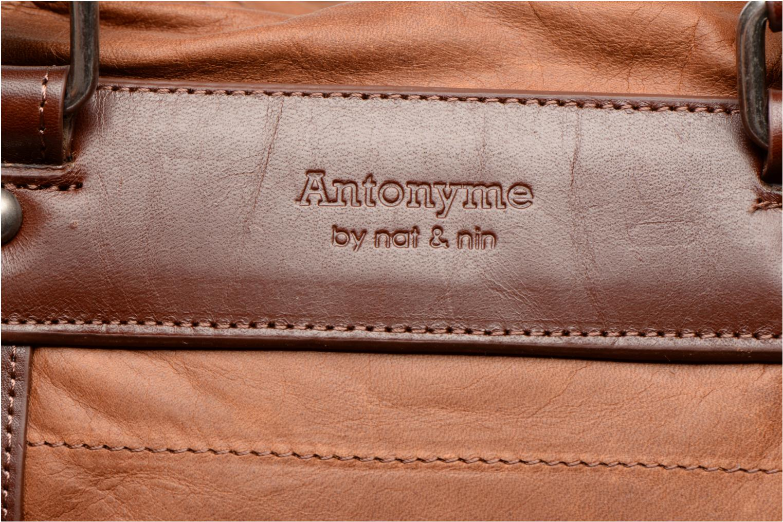 Bagages Antonyme by Nat & Nin Guido Marron vue gauche