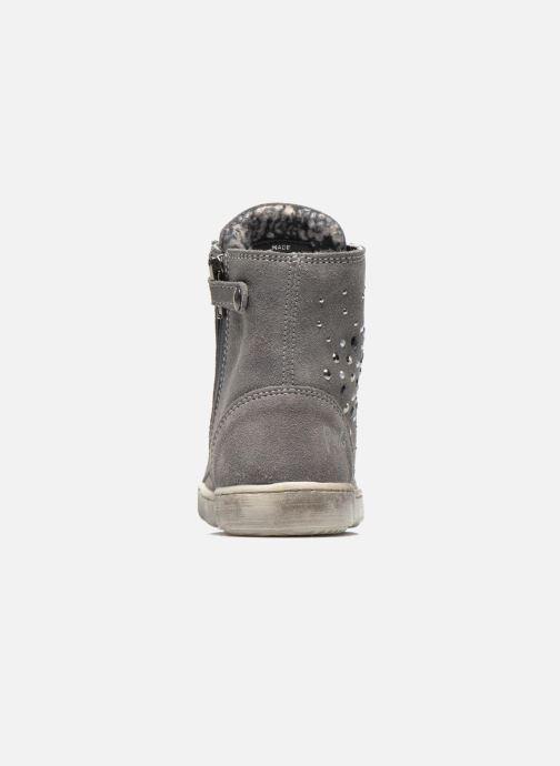 Zapatos con cordones Primigi Mariana Gris vista lateral derecha