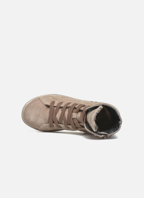 Scarpe con lacci Primigi Mariana Marrone immagine sinistra