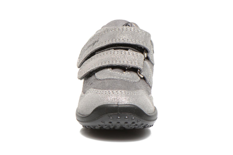 Chaussures à scratch Primigi Agua Gris vue portées chaussures