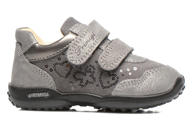 Chaussures à scratch Primigi Agua Gris vue derrière