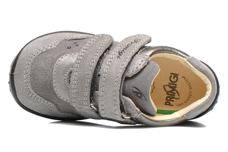 Chaussures à scratch Primigi Agua Gris vue gauche